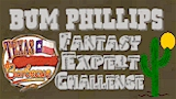 Bum Phillips Texas BBQ Fantasy Expert Challenge